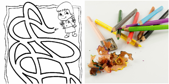1000 Ausmalbilder und Malvorlagen für Deine Kinder